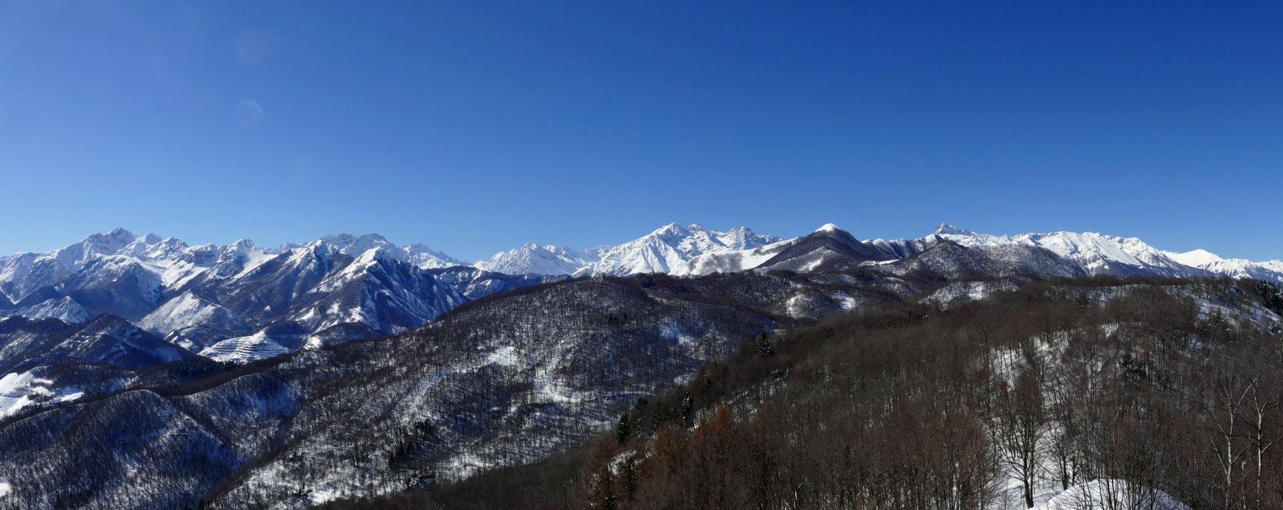 Panoramica verso la Valle Gesso