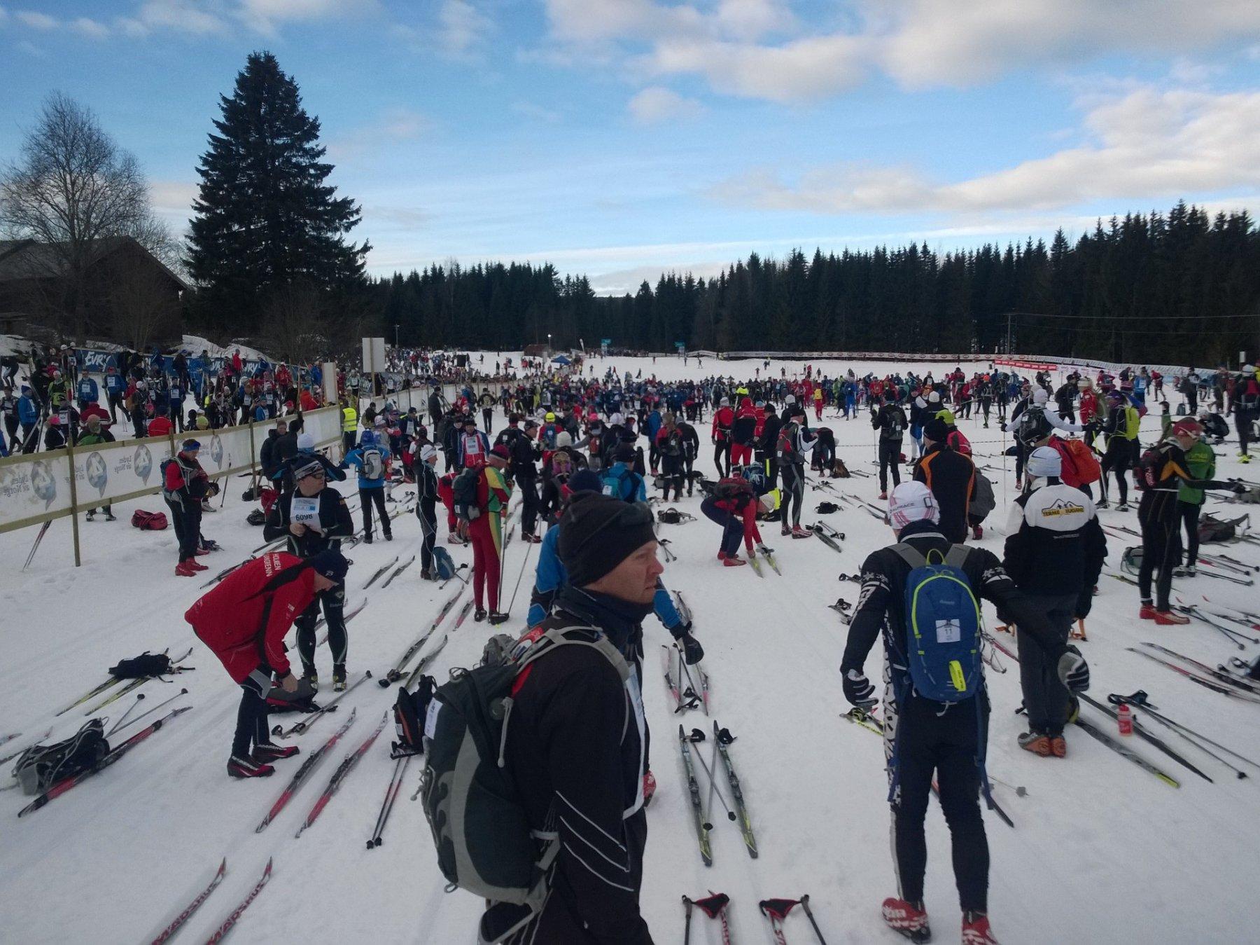 Birkebeinerrennet Rena - Lillehammer 2016-03-19