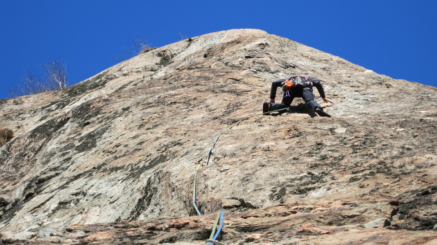 Coudrey (Monte) Pilier del Forte Lato SX 2016-03-19