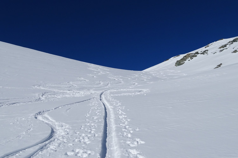 verso il Col du Mont Gelé