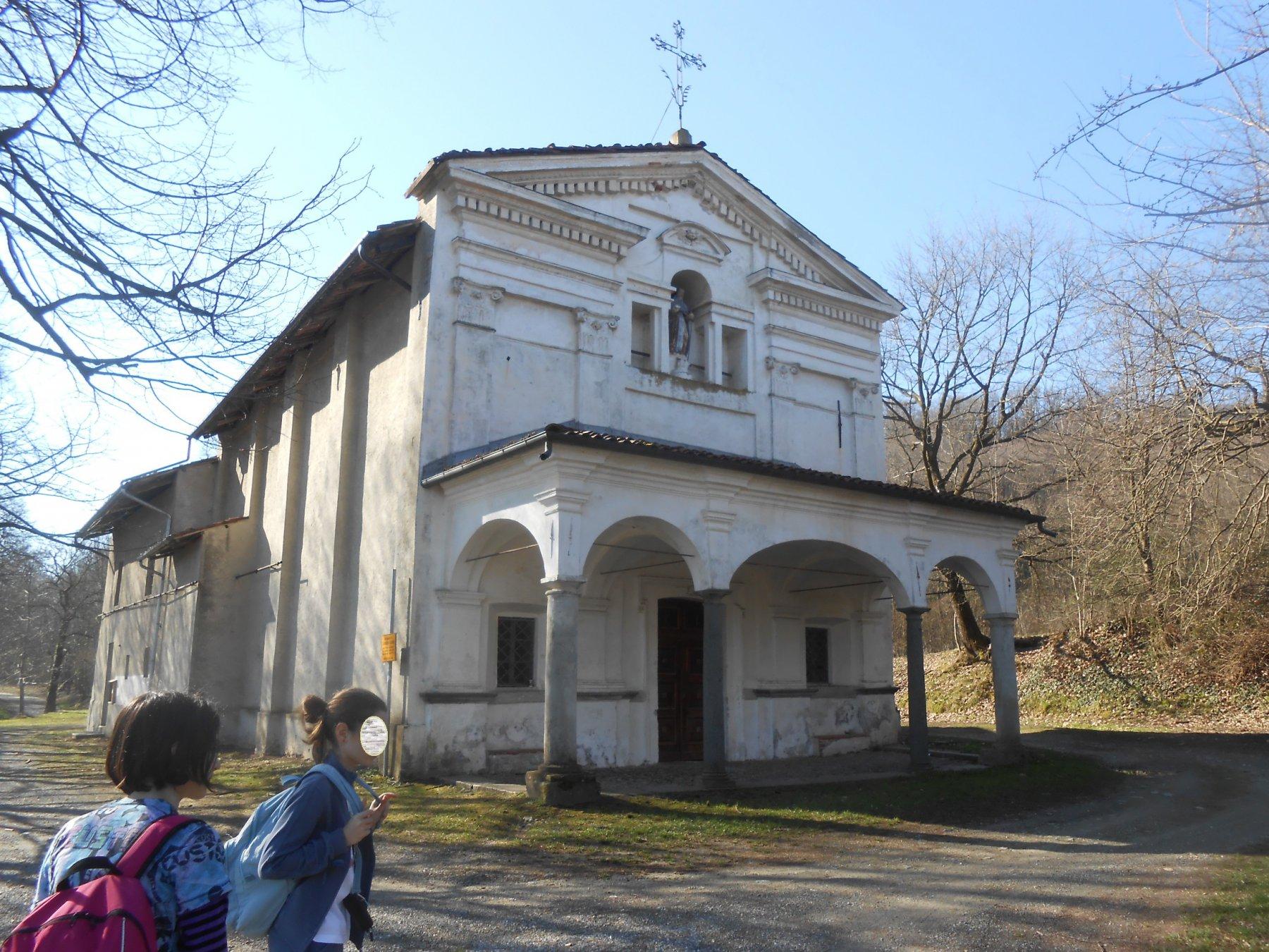 la chiesetta di S. Antonio