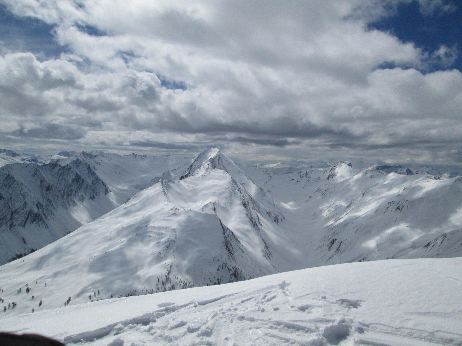 panorama verso le Grand Berard