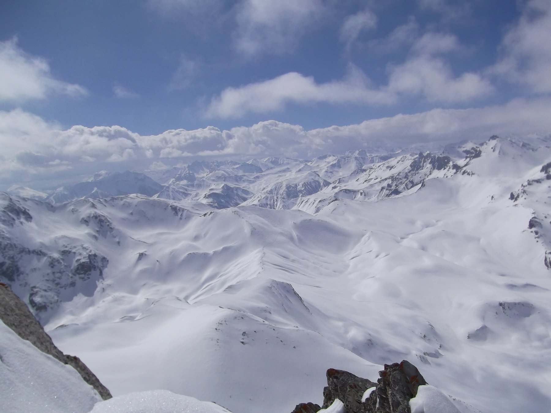 Panoramica zona Colle Puriac.