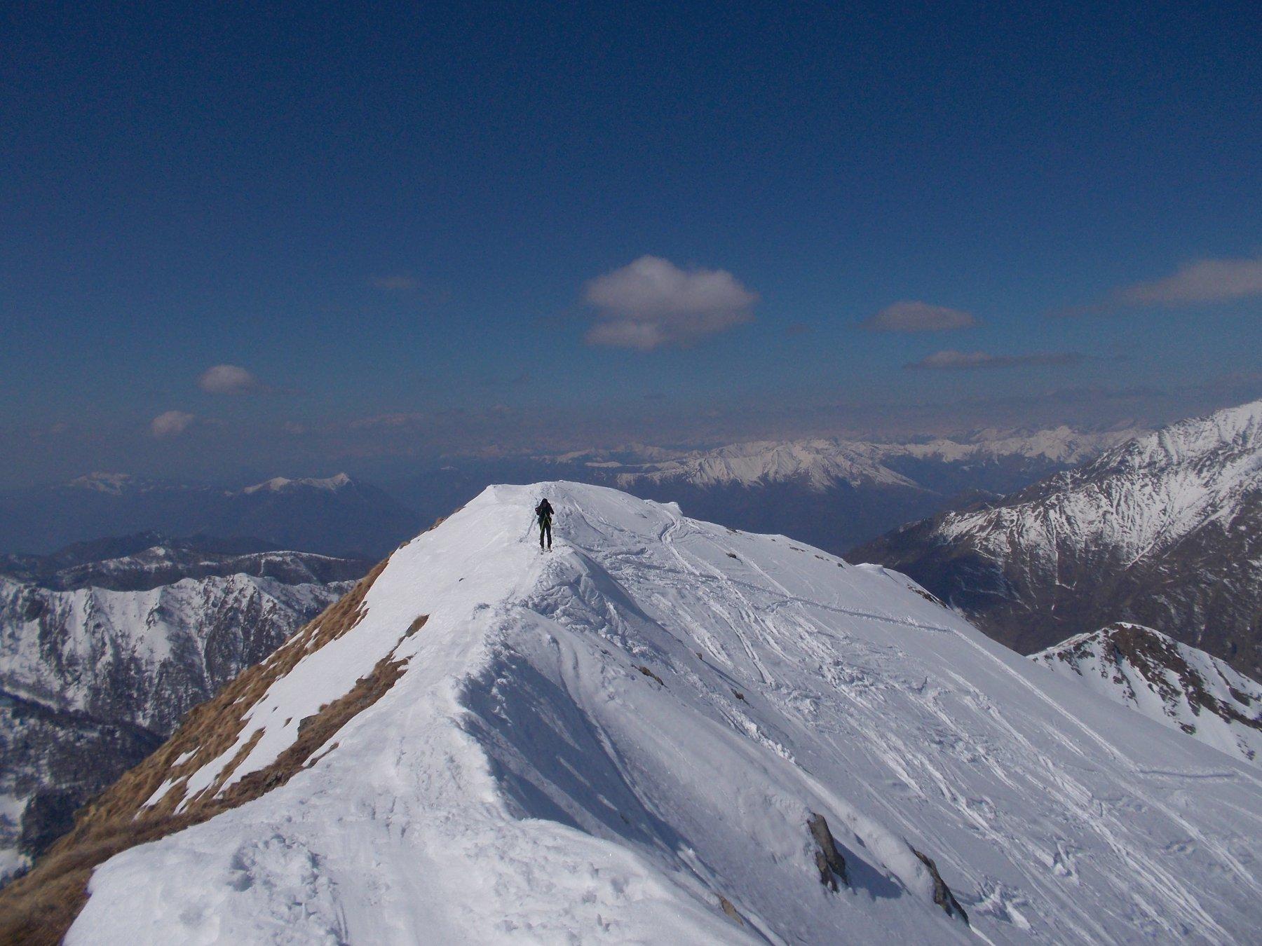 Mellasc (Pizzo) per la Val Vedrano 2016-03-23