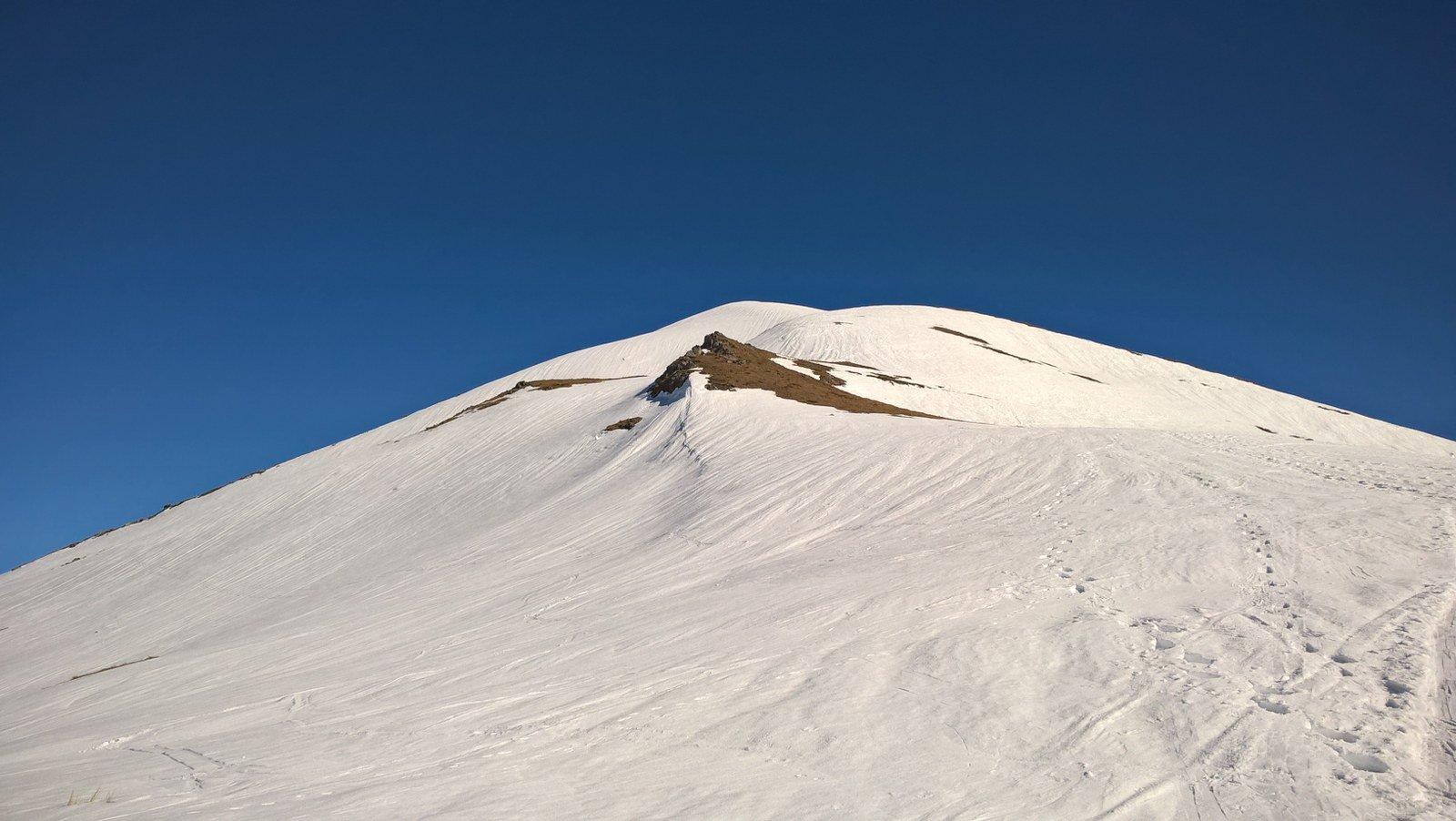 Seconda discesa con neve più smollata