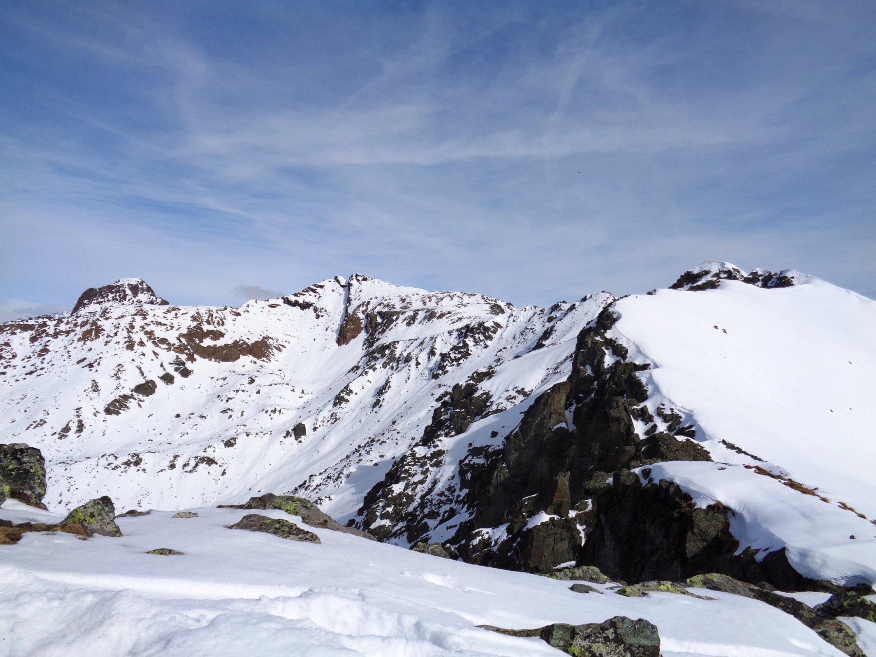 Panorama dalla vetta (Cristalliera, Rocciavré, Robinet, Loson)