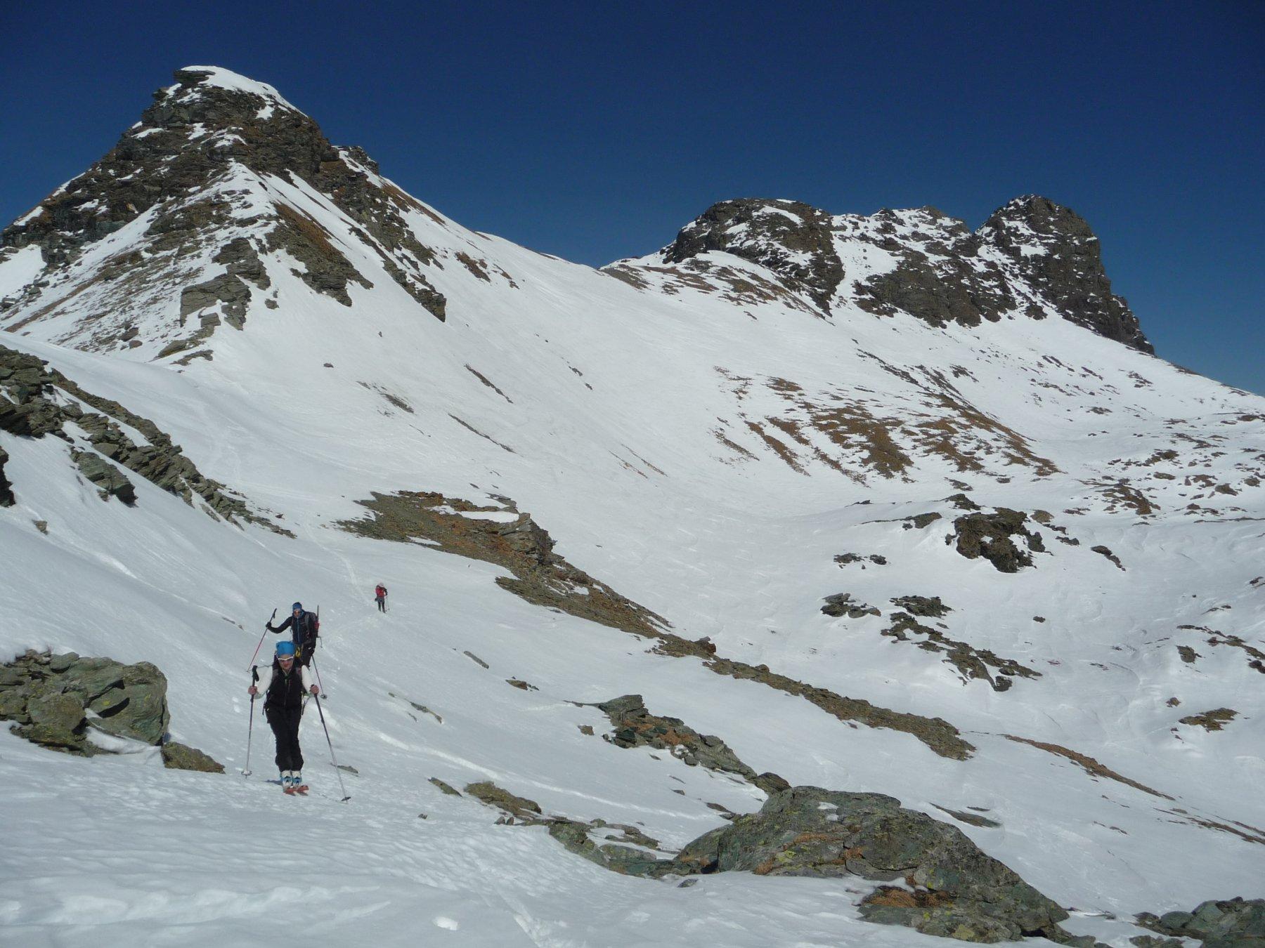 Mont Avic alle spalle