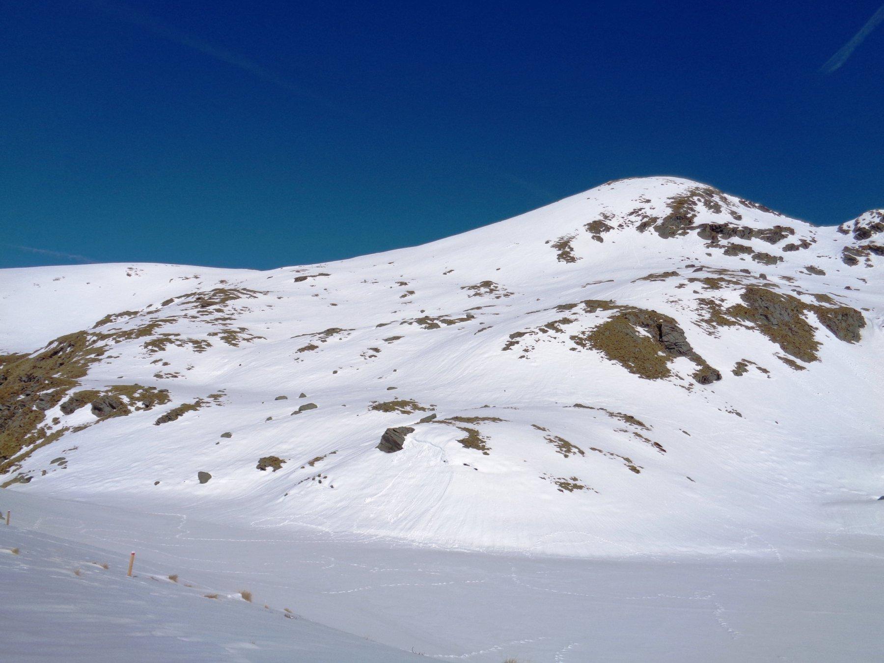 Quota 2657 m a ovest della Punta Malanotte da Seleiraut per il catino Sud 2016-03-26