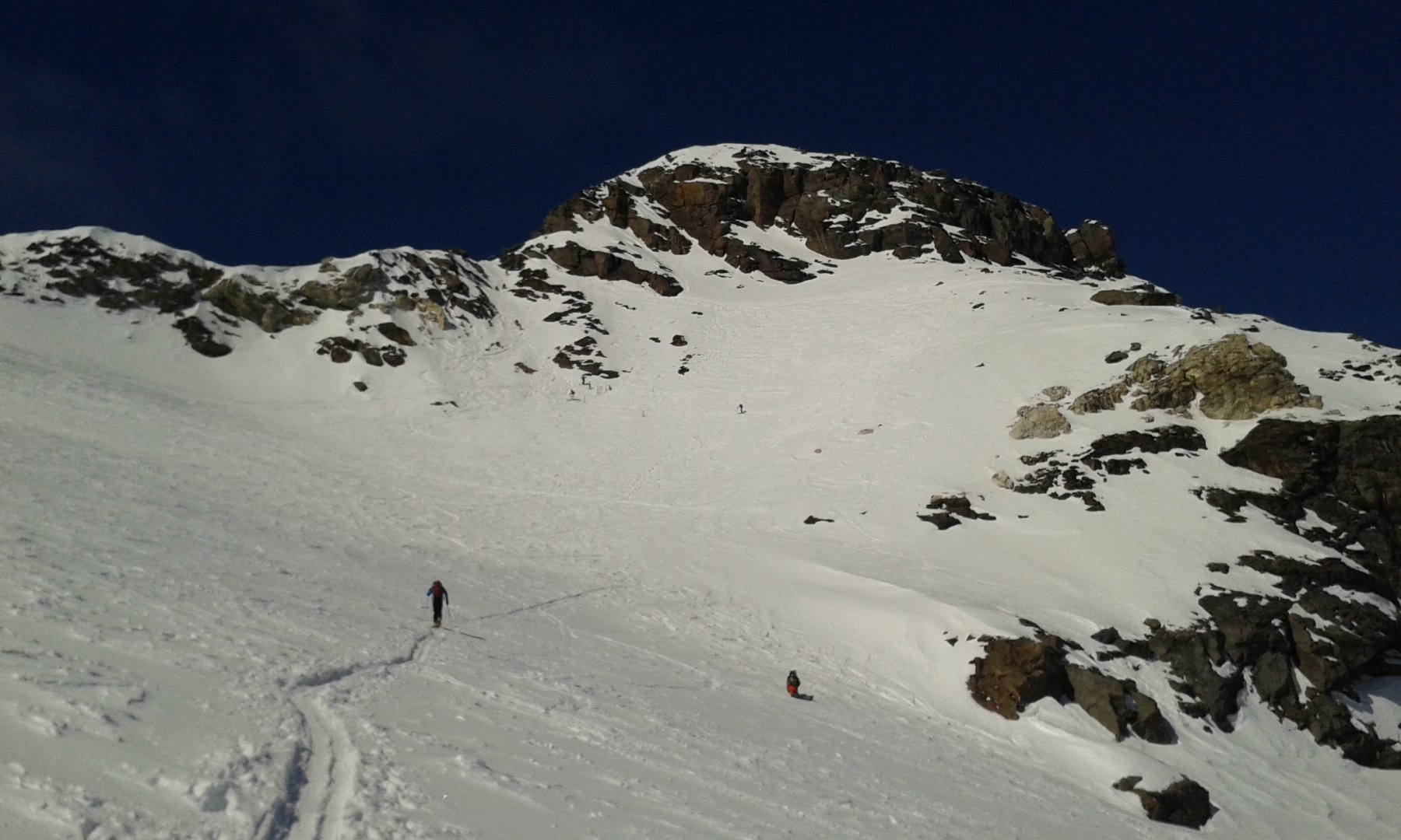 Quasi al deposito sci