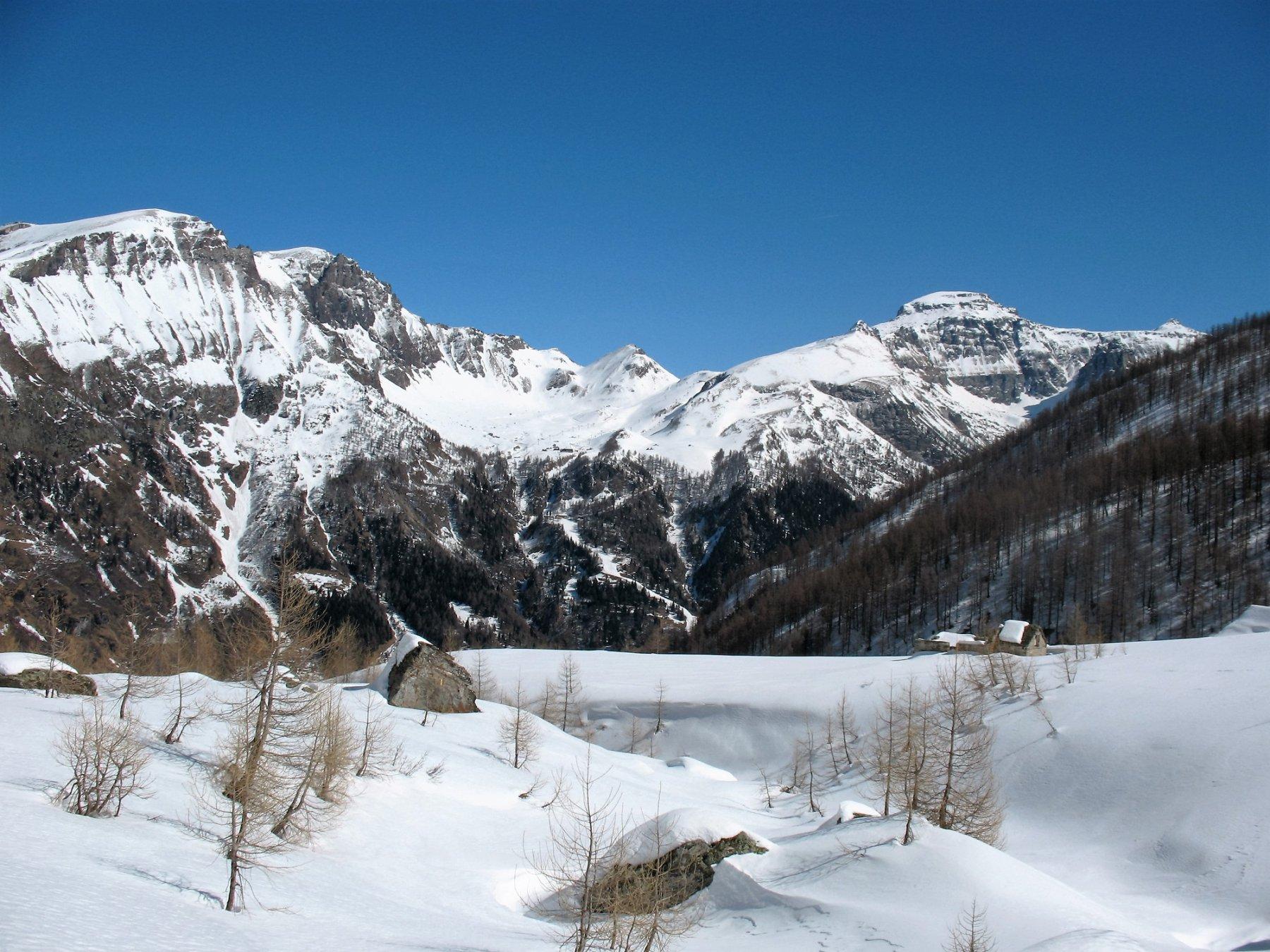 Cistella e Diei dall'Alpe Vallè