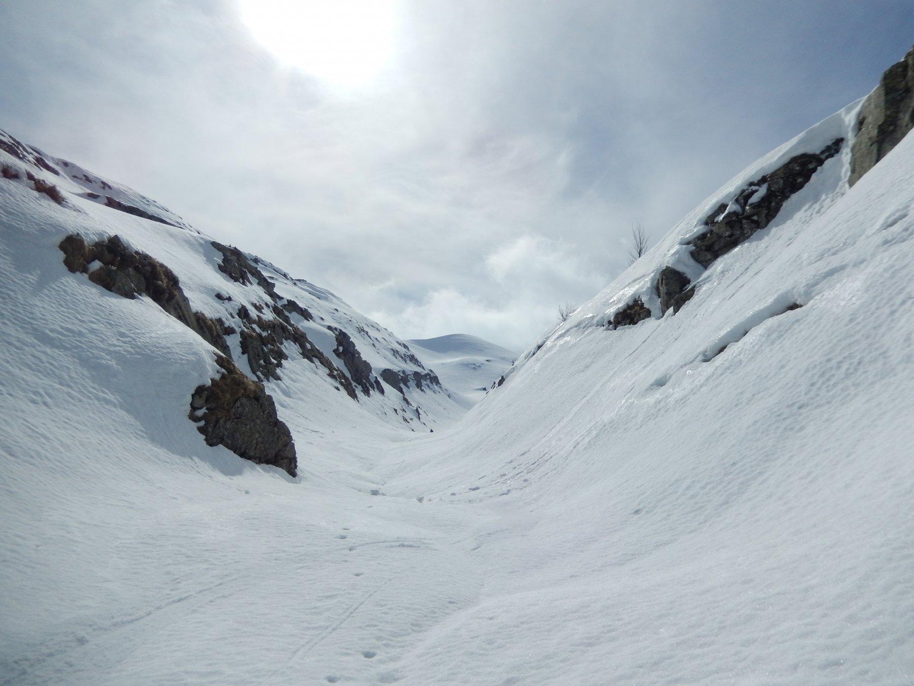 Sillara (Monte) da Valditacca per il versante N 2016-03-27