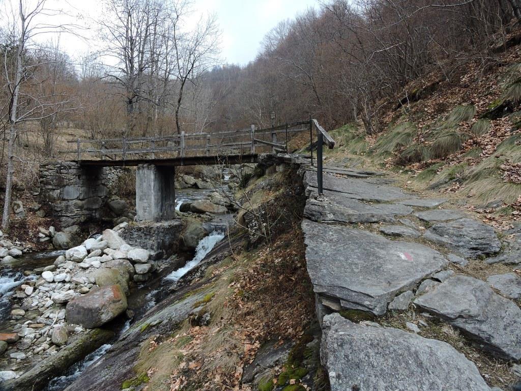 Ponte dei Mulinas . m. 935