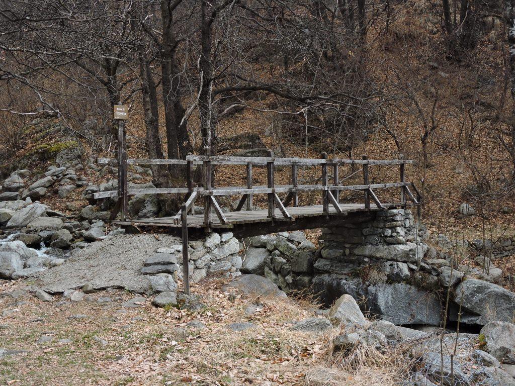 Ponte di Rocceria -  m. 1020