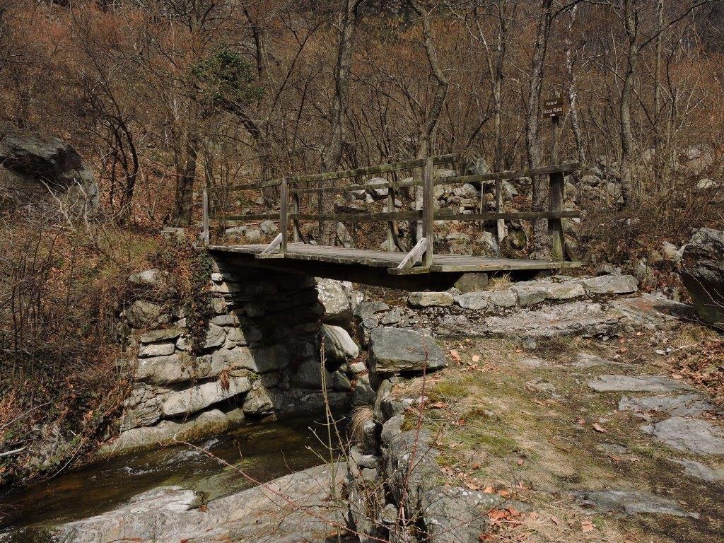 Ponte di Roca Rusa - m. 820