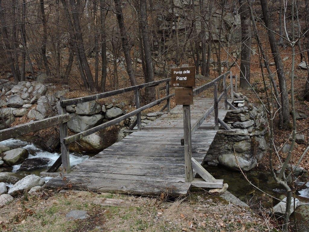 Ponte delle Piane - m. 778