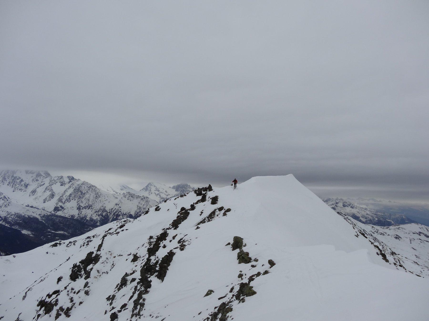 ultimi metri di cresta
