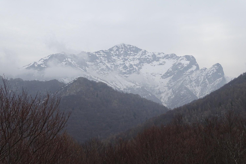 panorama verso un tetro Grignone