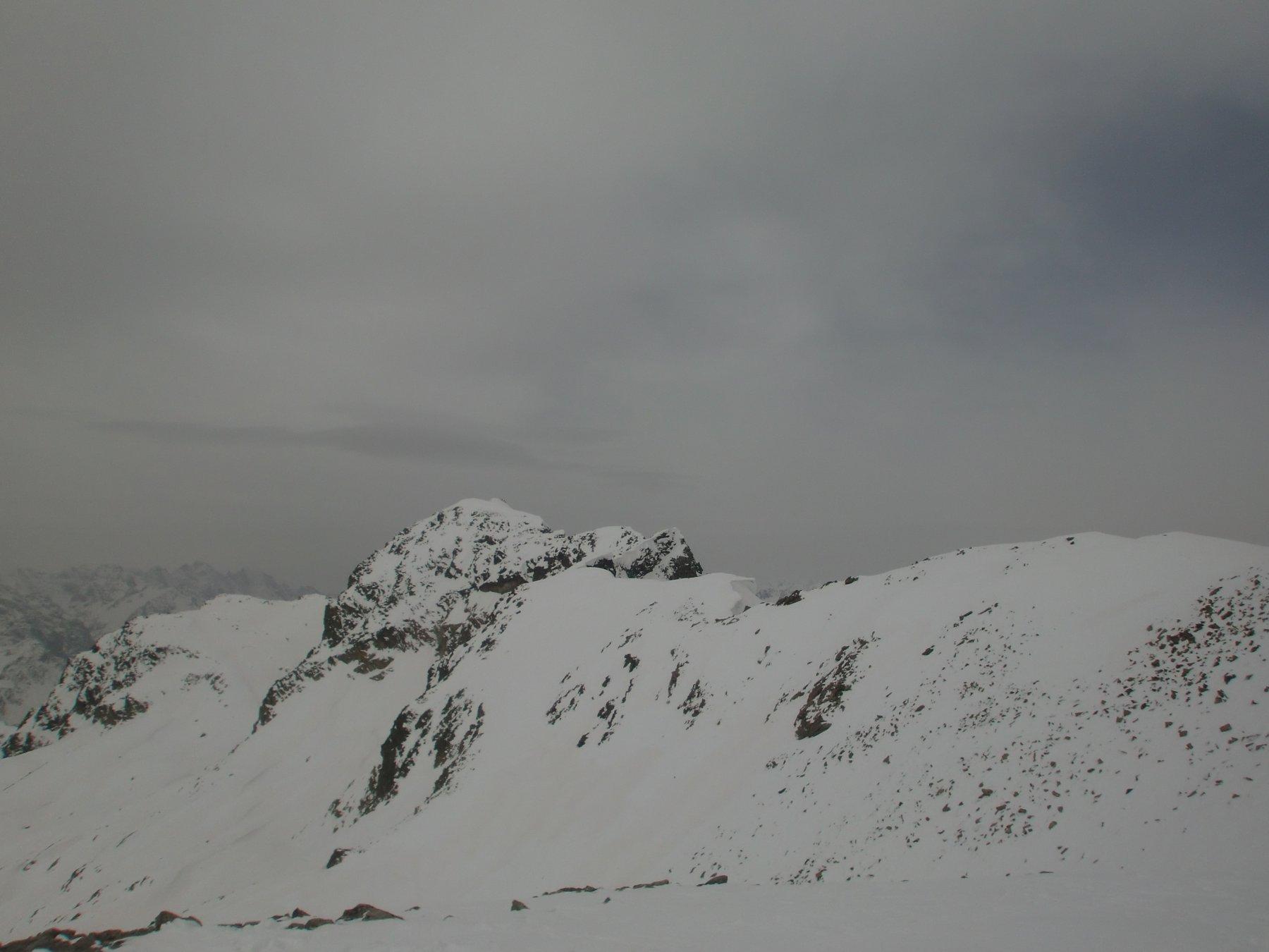 Cima Piz Lagrev (3164 m) dalla quota 3109 m