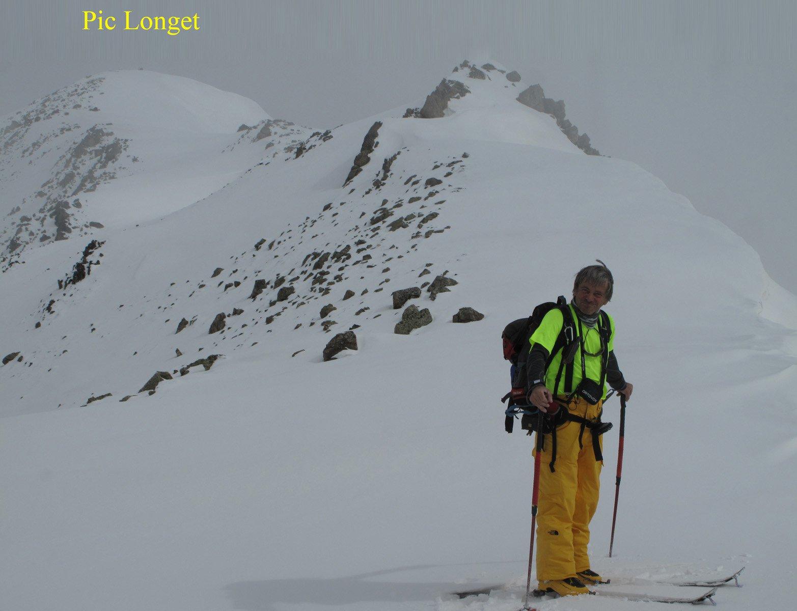 La cresta finale dal col Longet
