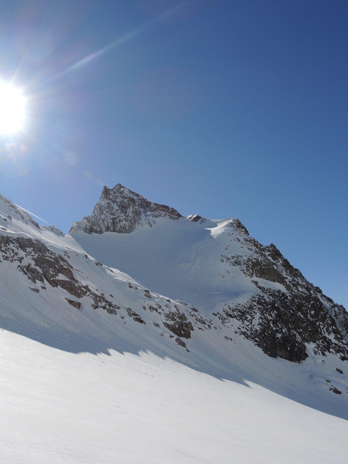 la punta ondezana dal ghiacciaio di teleccio