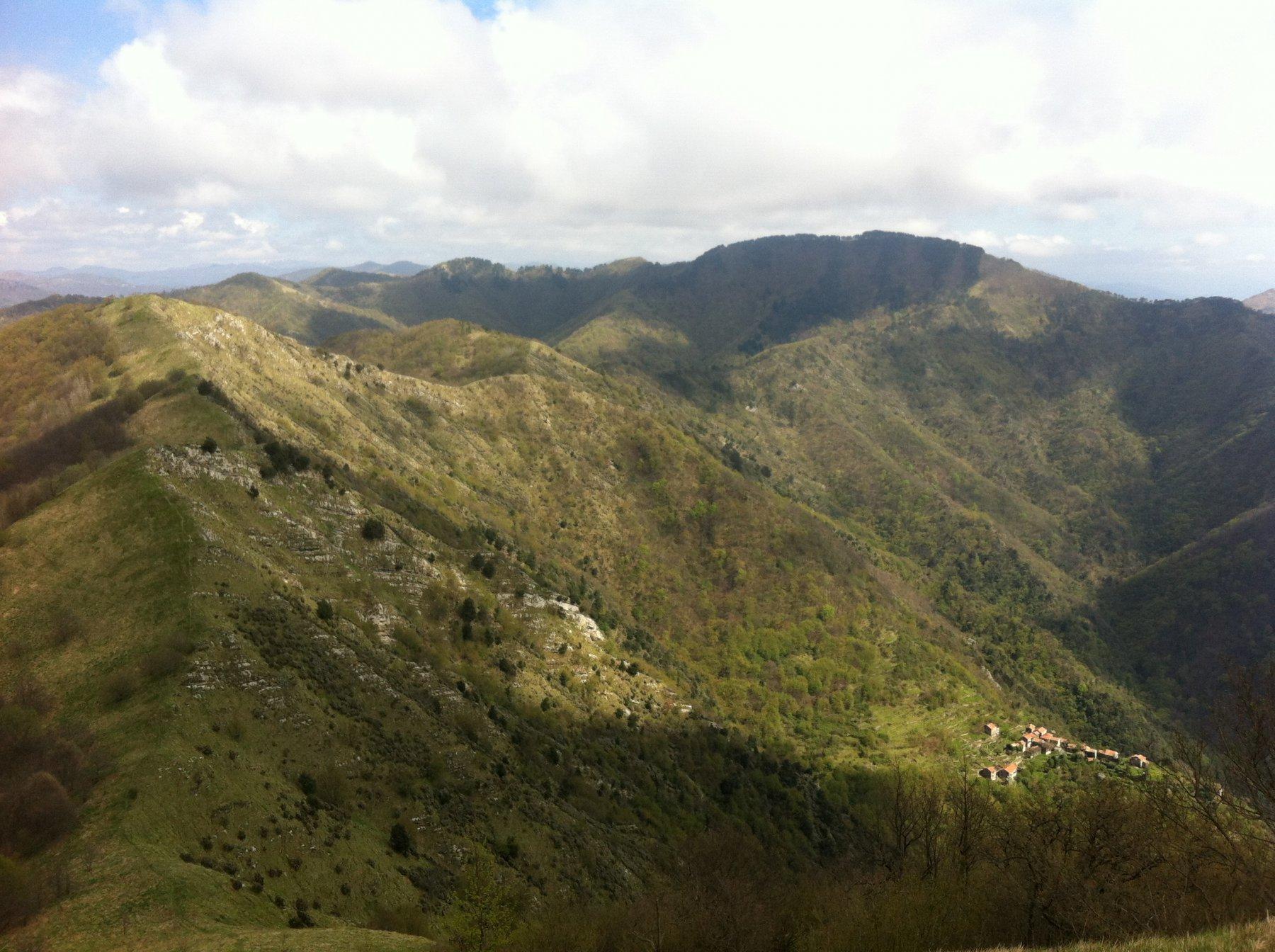 dall' Alpesisa versoM. Lago e M. Candelozzo
