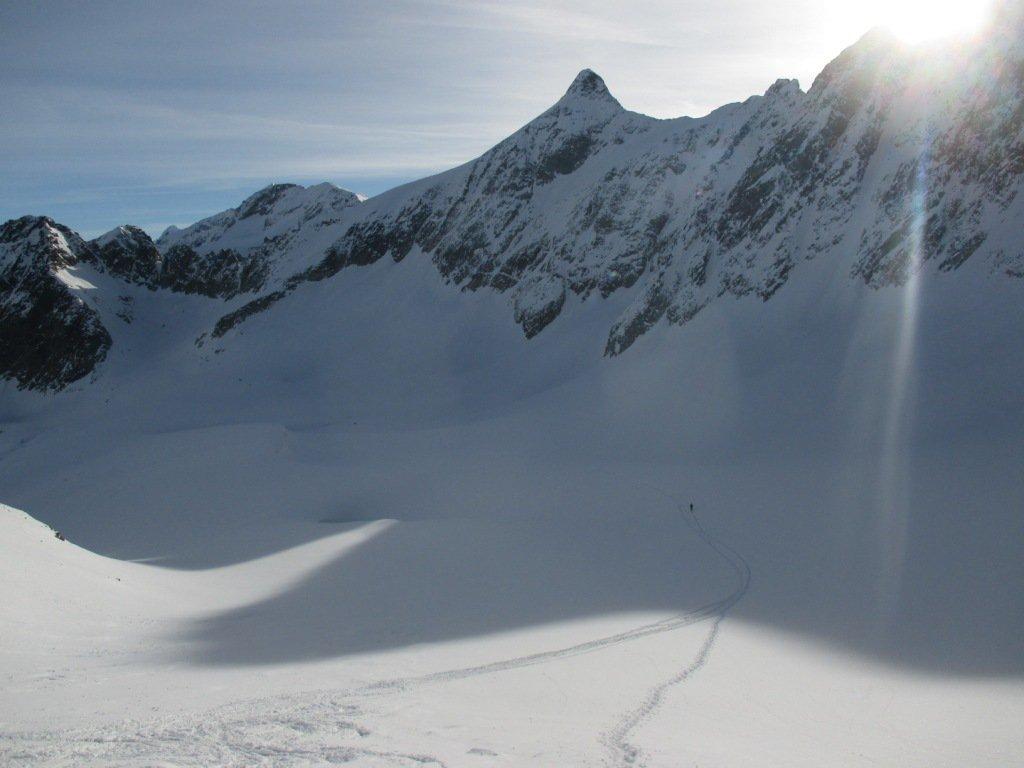sul ghiacciaio, la meta e' ancora lontana