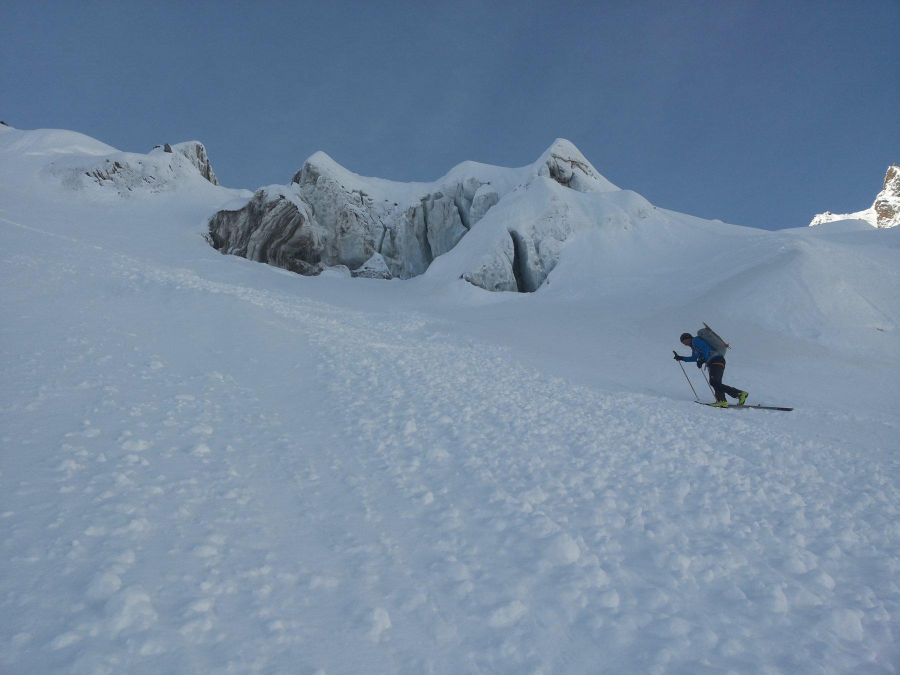fulvio e il ghiacciaio delle loccie
