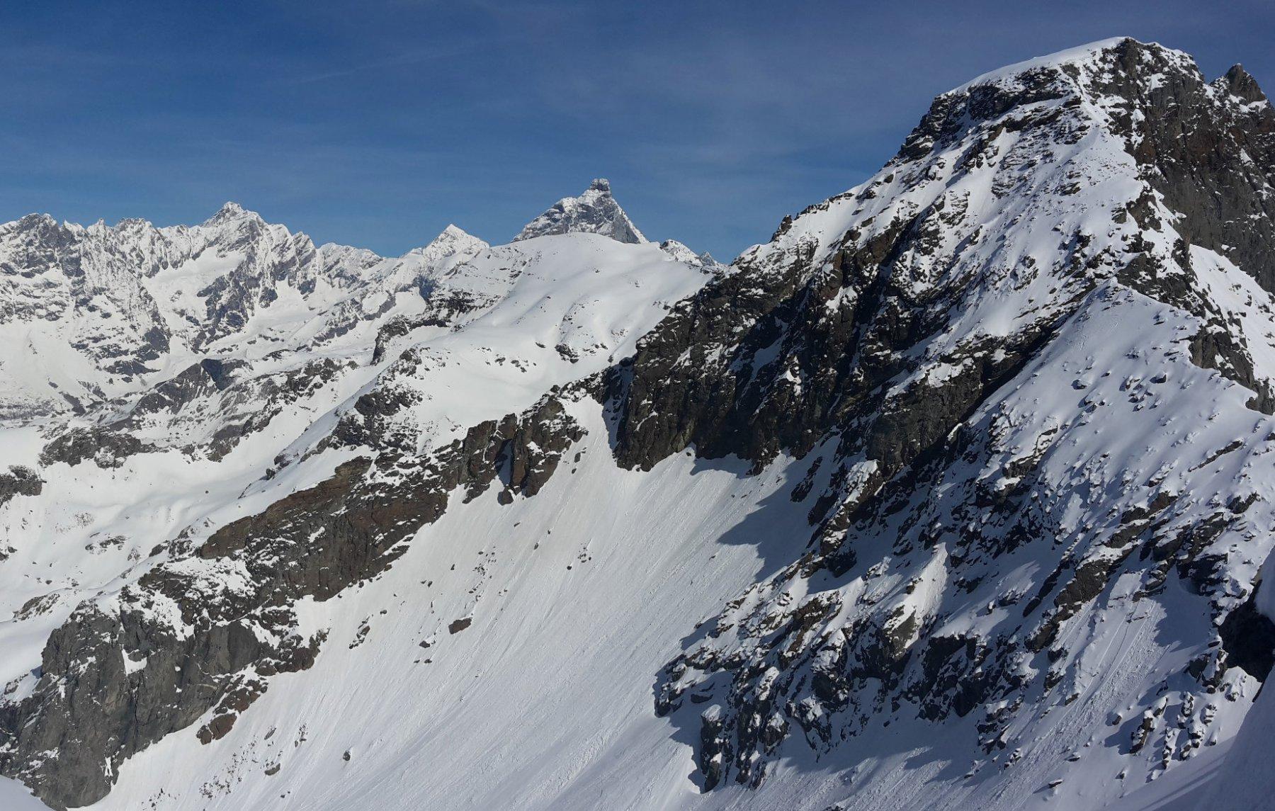 Grand Tournalin e Cervino dalla cima