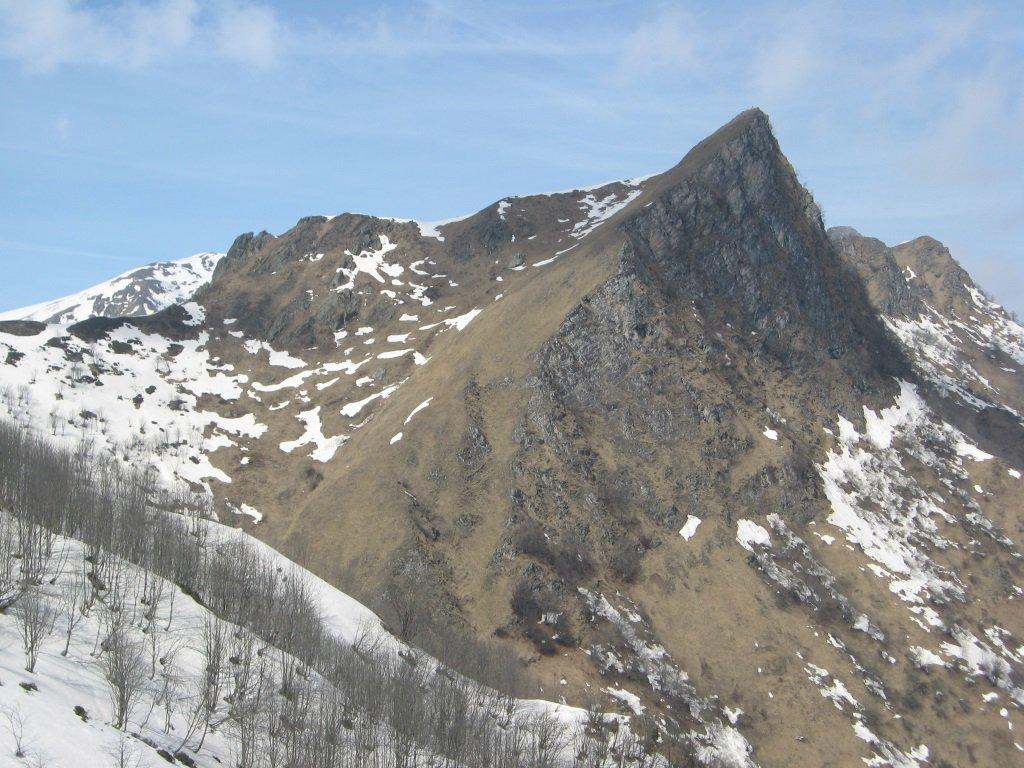 Rocca Redevil dal colle