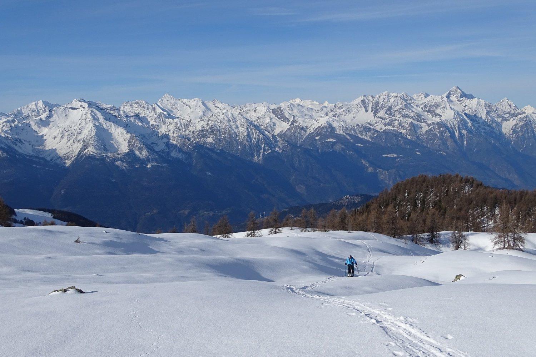 panorama verso valle