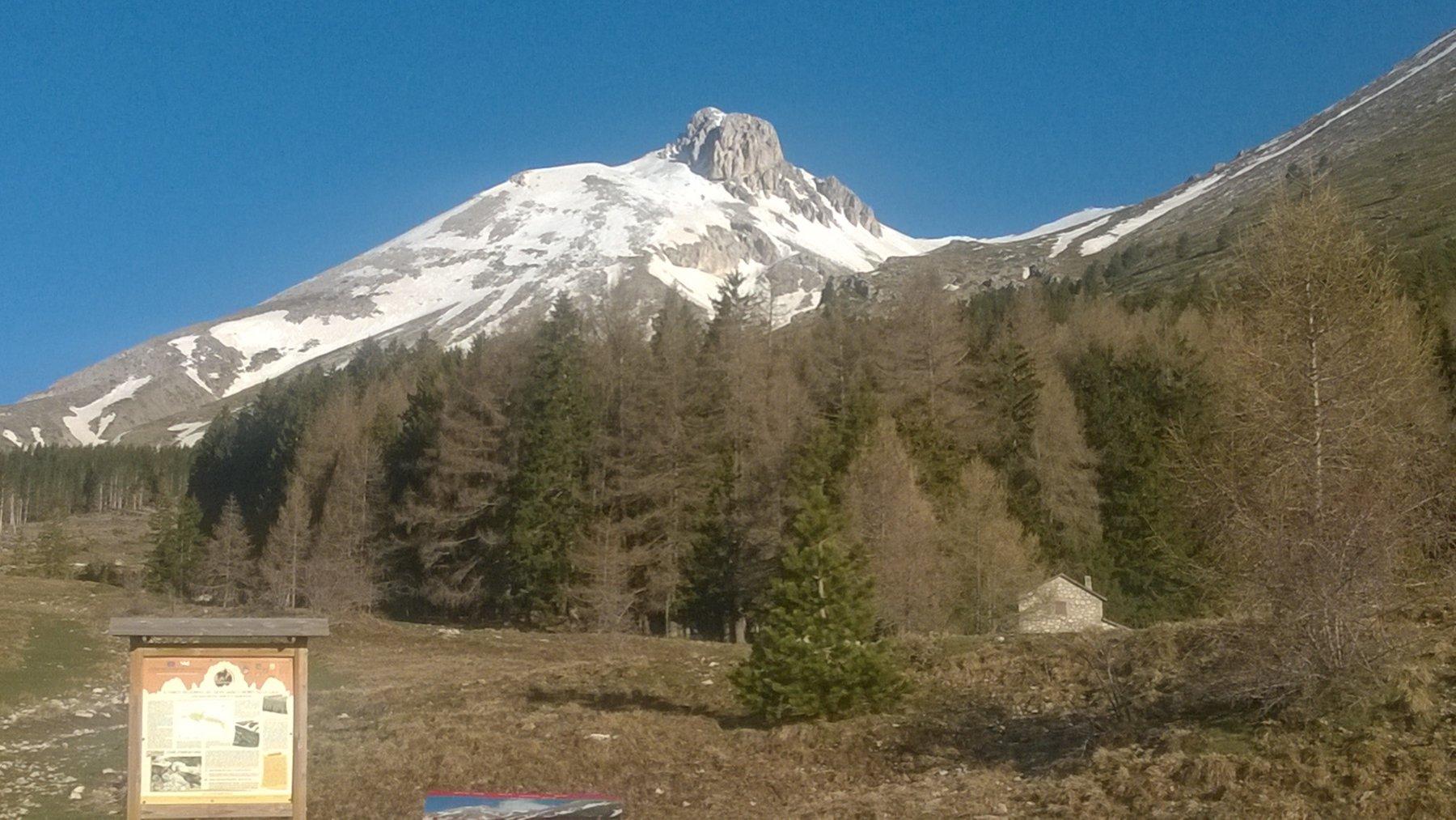 Monte Camicia da Fonte Vetica