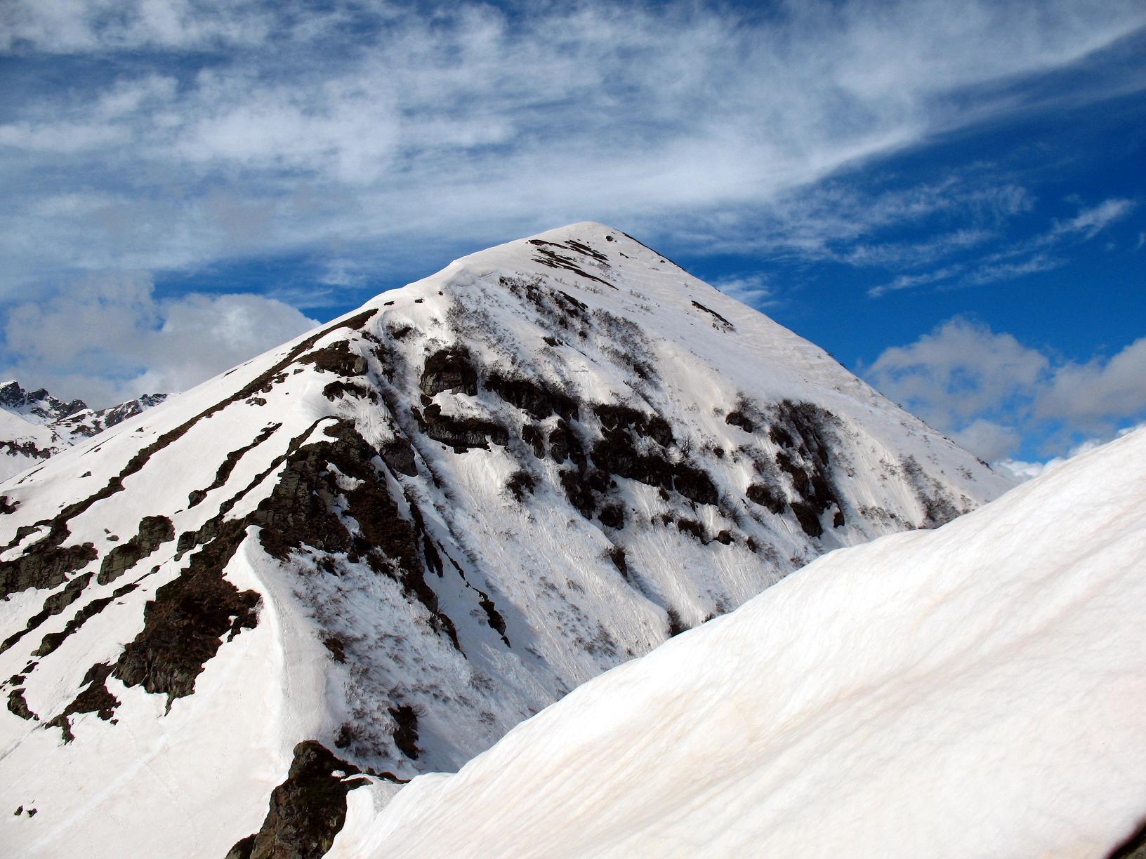 Monte Creusa dalla Cima delle Giosolette