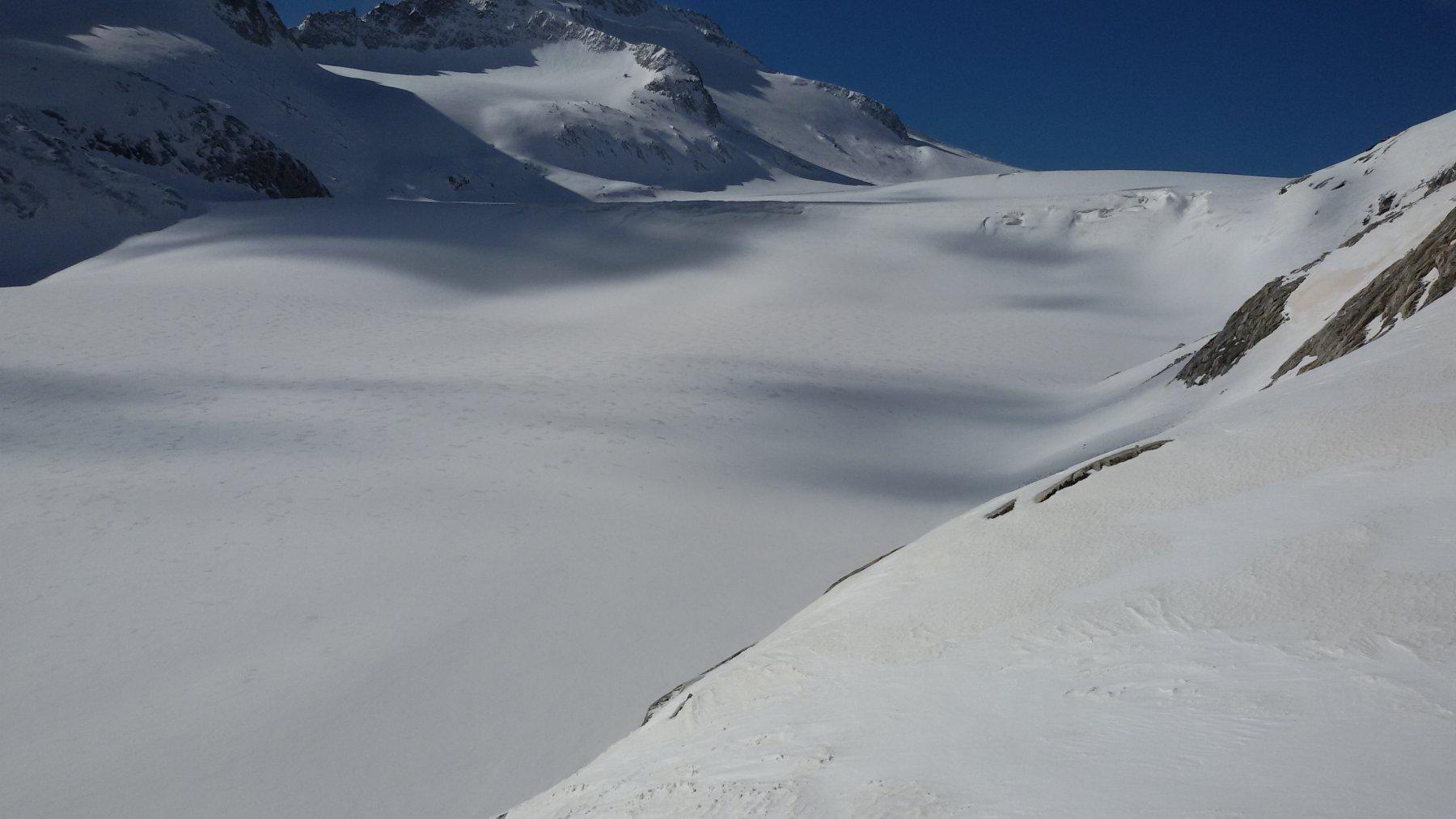 Ingresso sul ghiacciaio