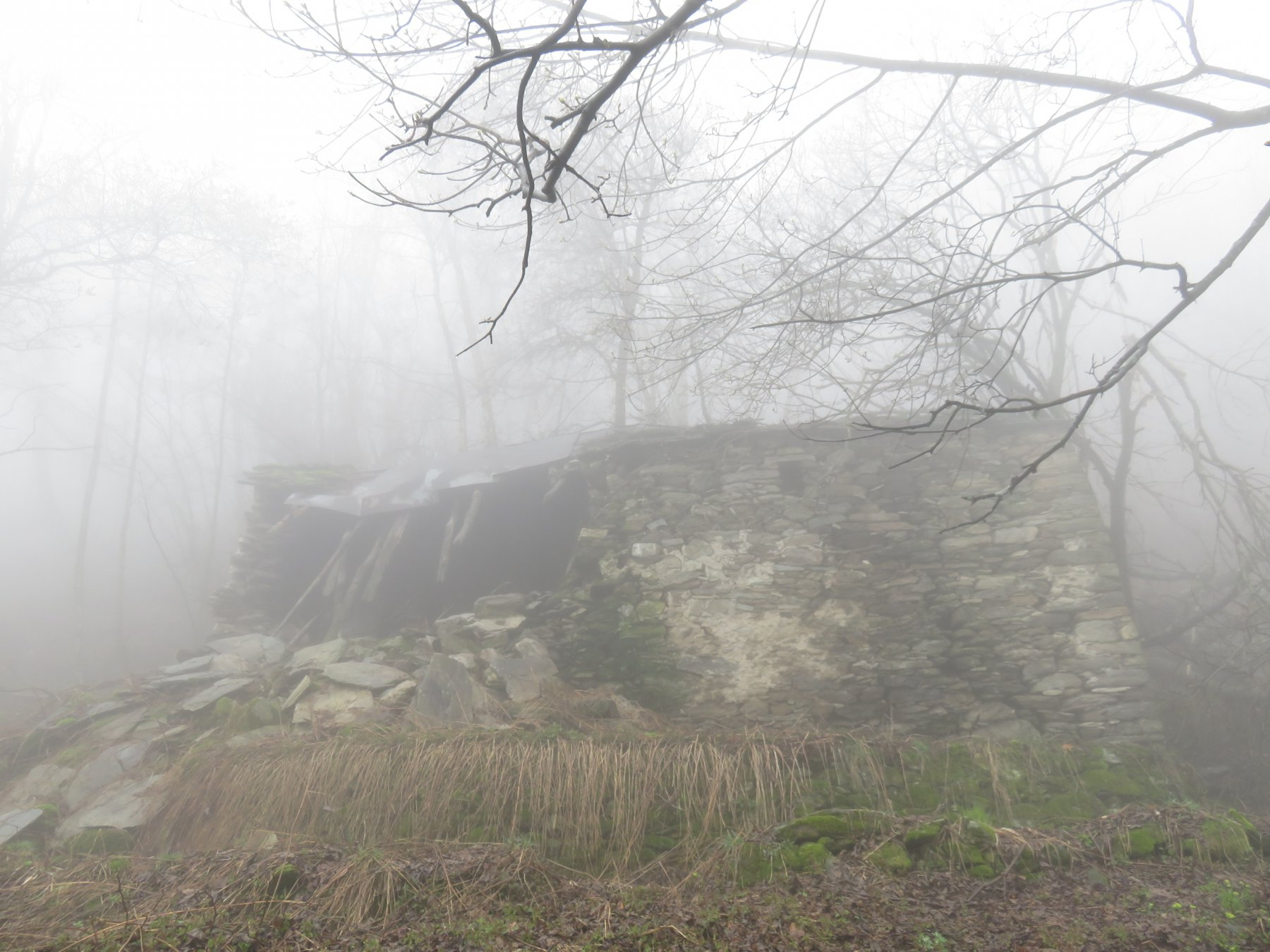 Alpe Crest in completa rovina