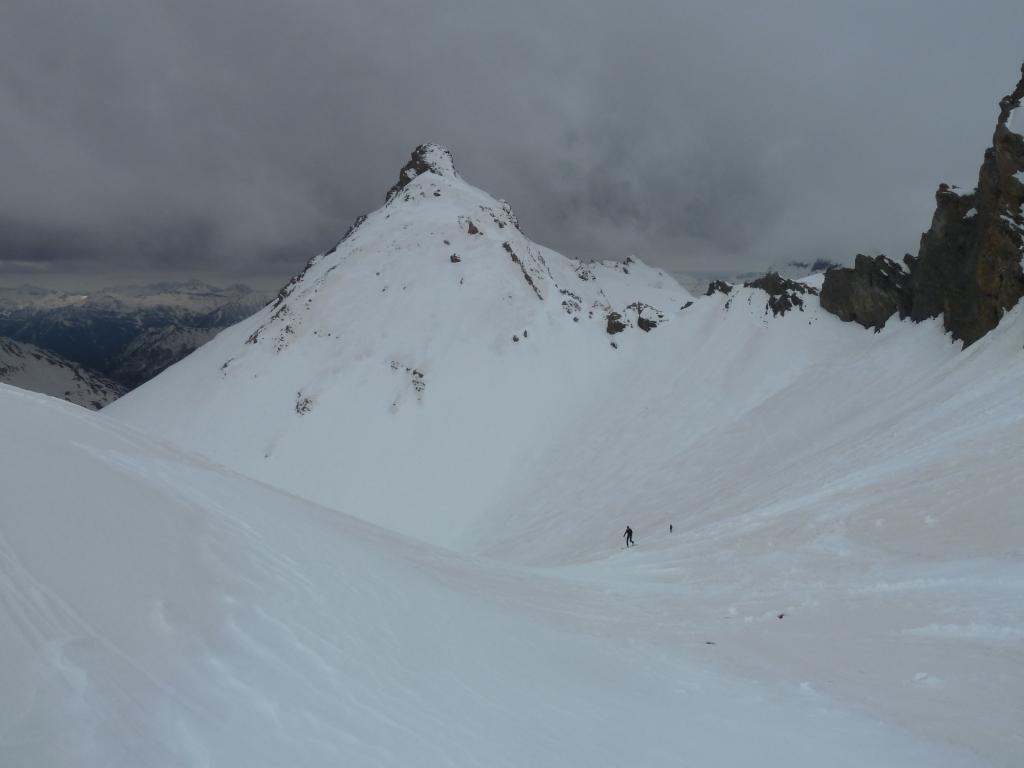 Alle spalle Rocca Tre Vescovi