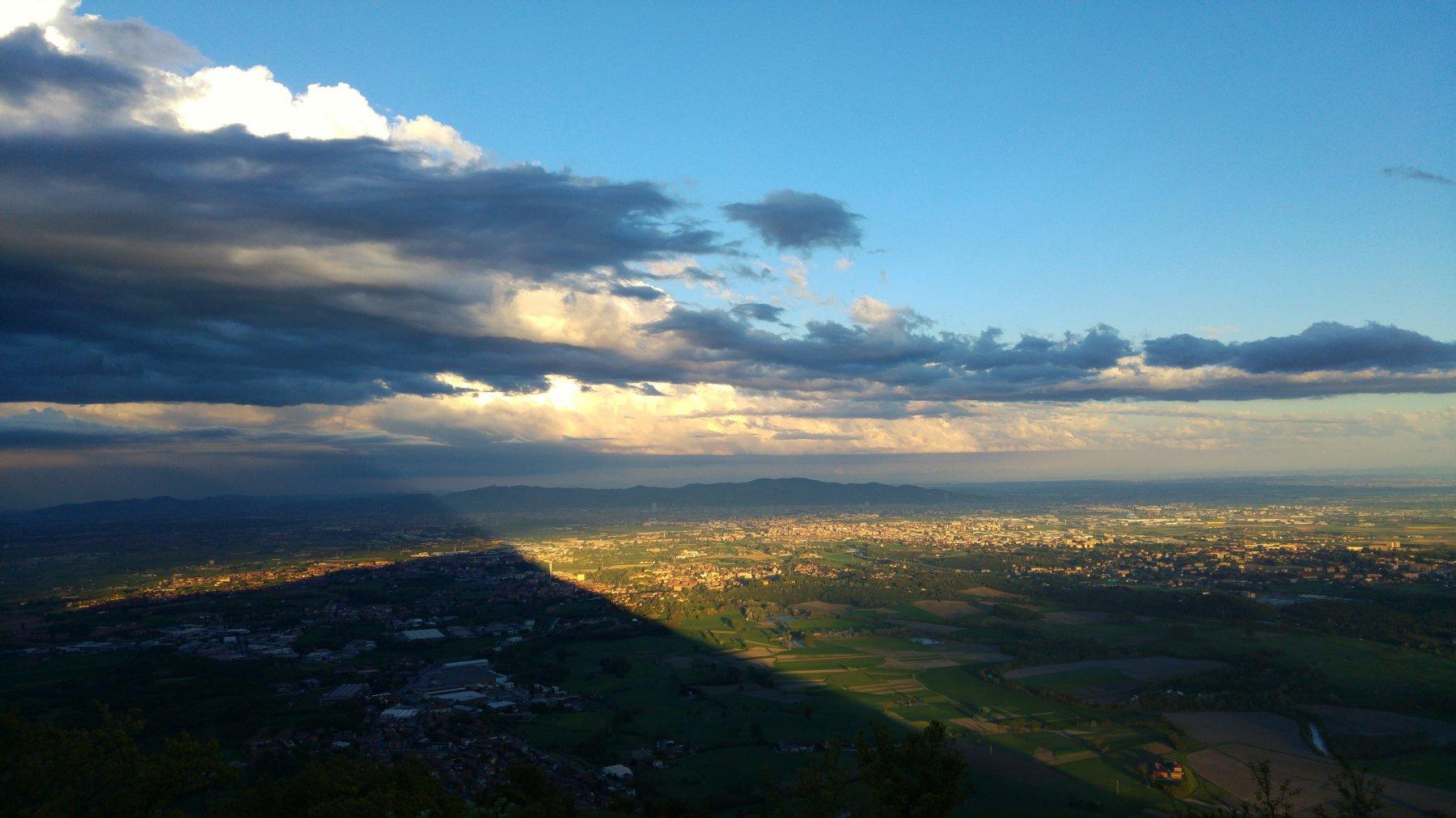 L'ombra del Musine' sulla piana di Torino!