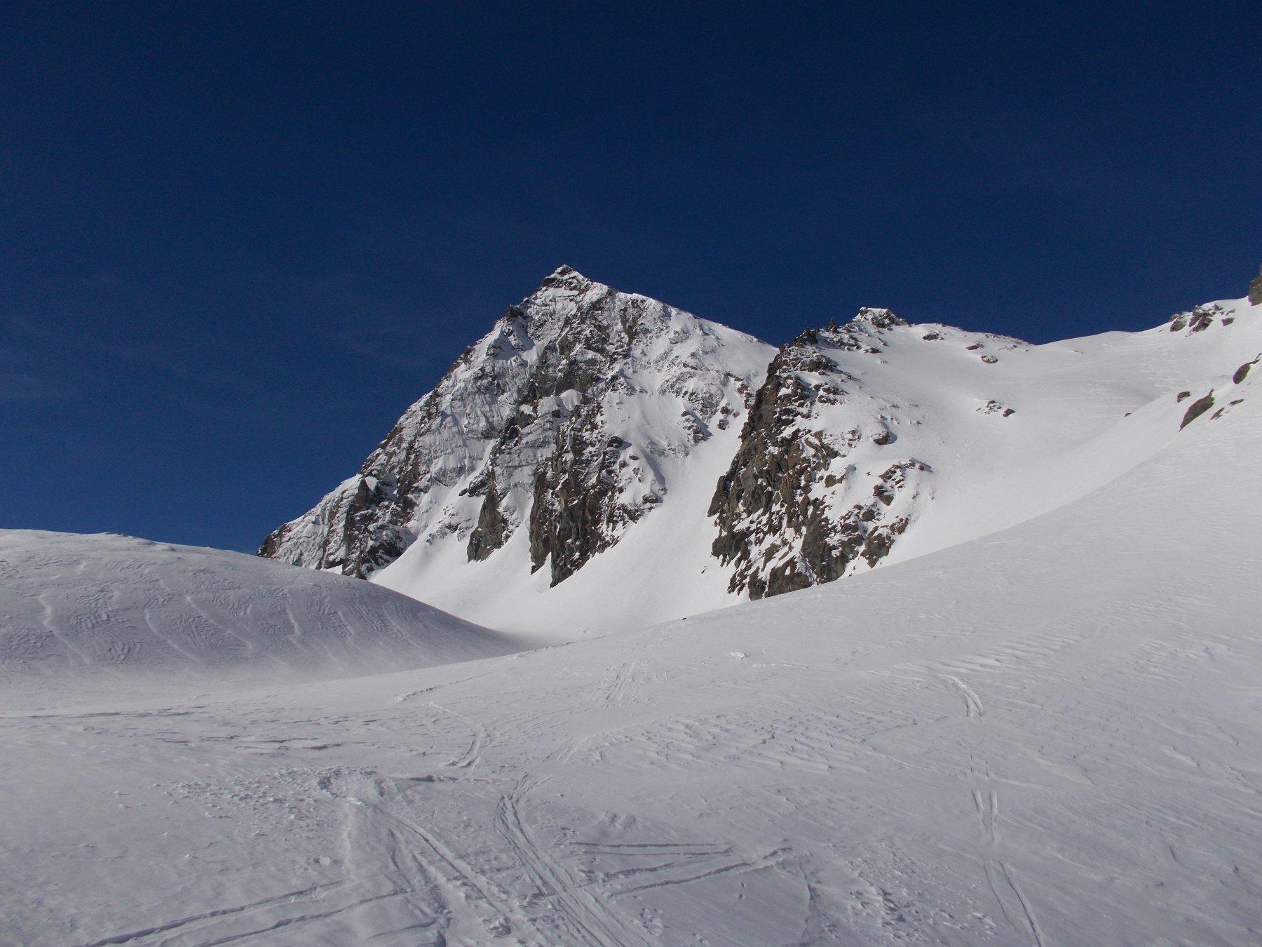 salendo al Col d'Arnas con a sx la P.Maria..