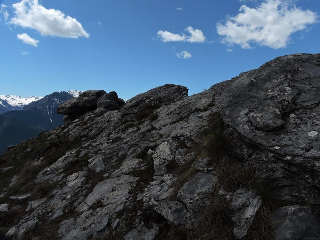 Le roccette in cima al Betunet