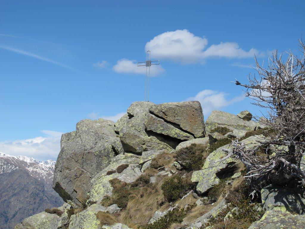 Croce di vetta del Monte Bo