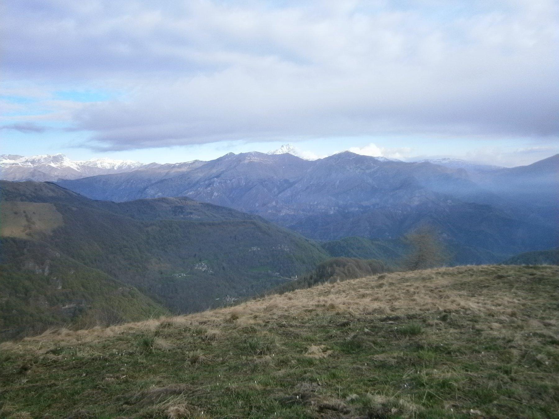 Panorama dal m. La Pigna