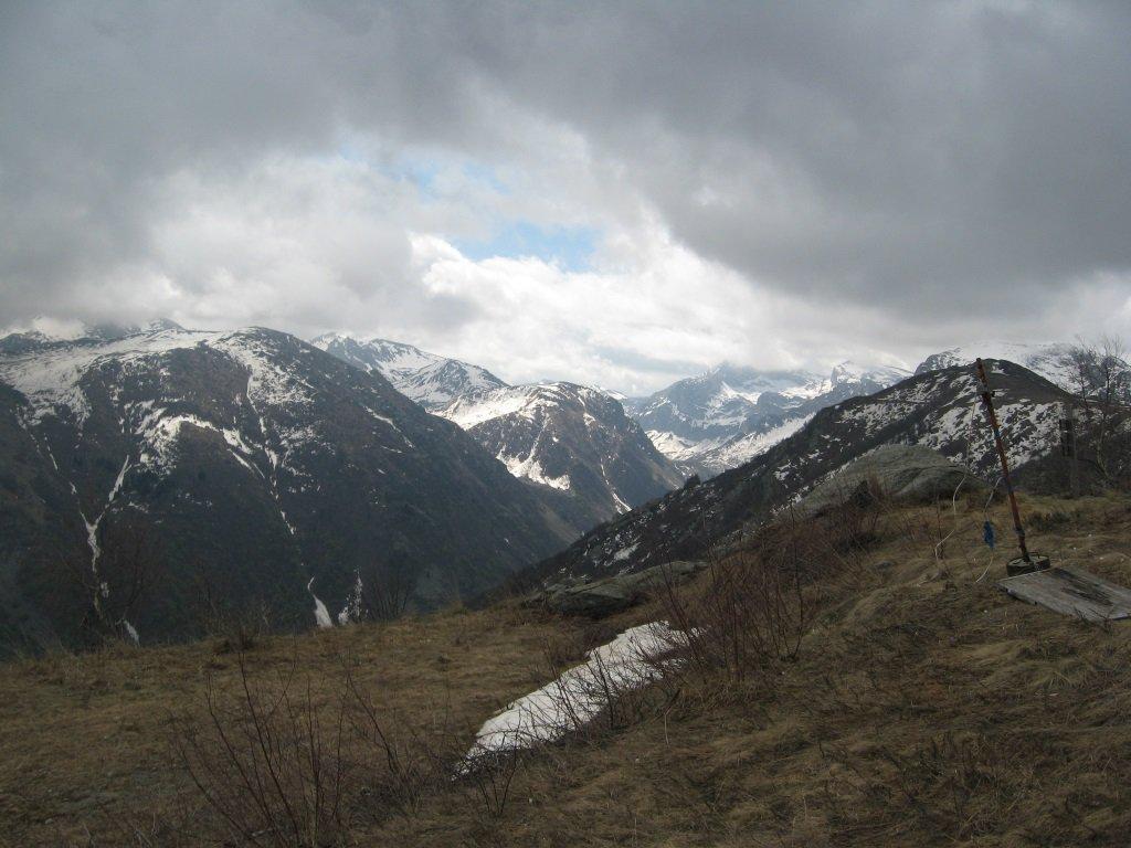 Sul monte Pigna