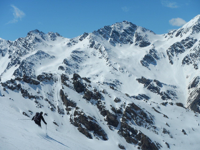 le belle cime che separano la Valle Argentera dalla Valle di Thures