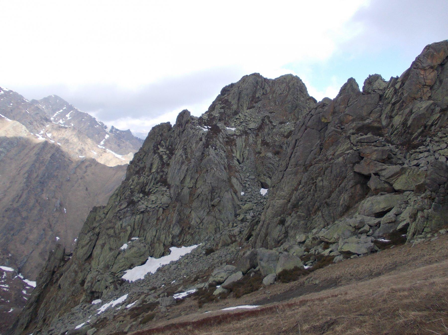 Vista dal Colle del lato Sud della Rocca Pergo Grossa.