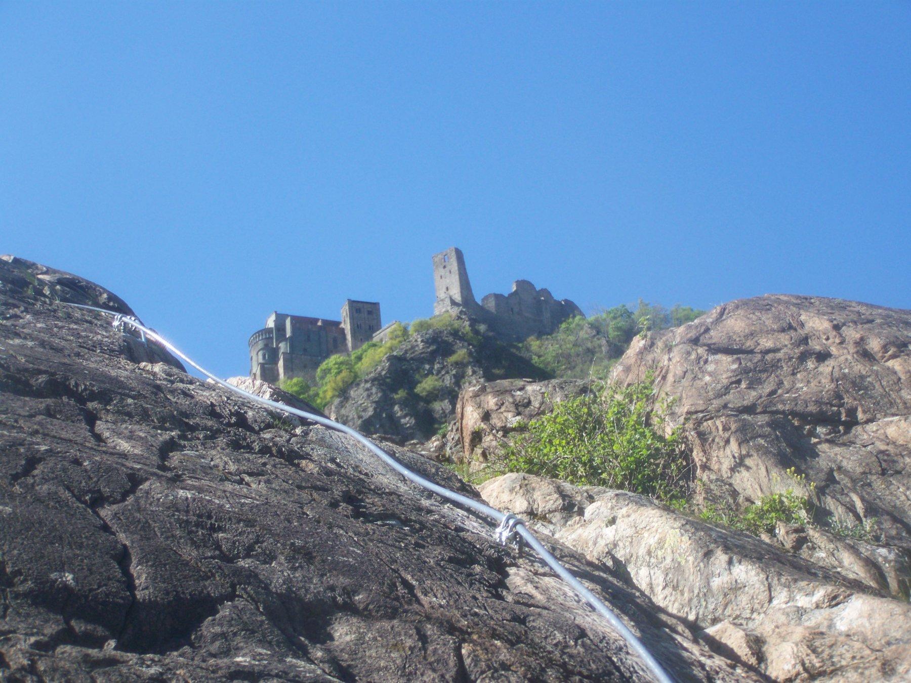 Pirchiriano (Monte)Via Ferrata Carlo Giorda 2016-04-24