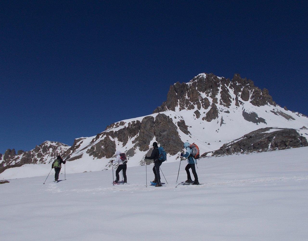 nei pressi del Colle Roburent,il Monte Oronaye