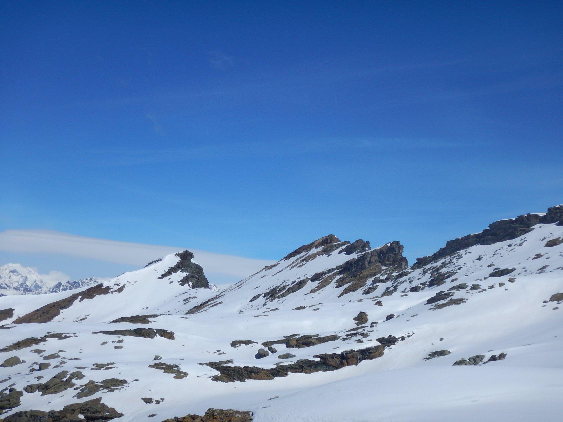 Salendo, Vista verso il vallone di Bella Lana