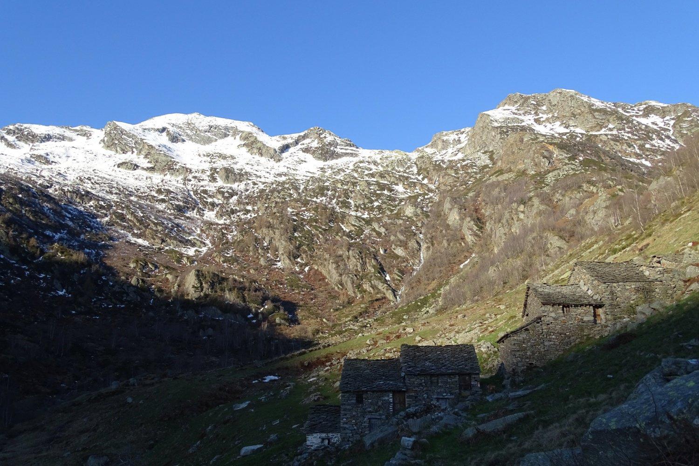 arrivo all'Alpe Straiga