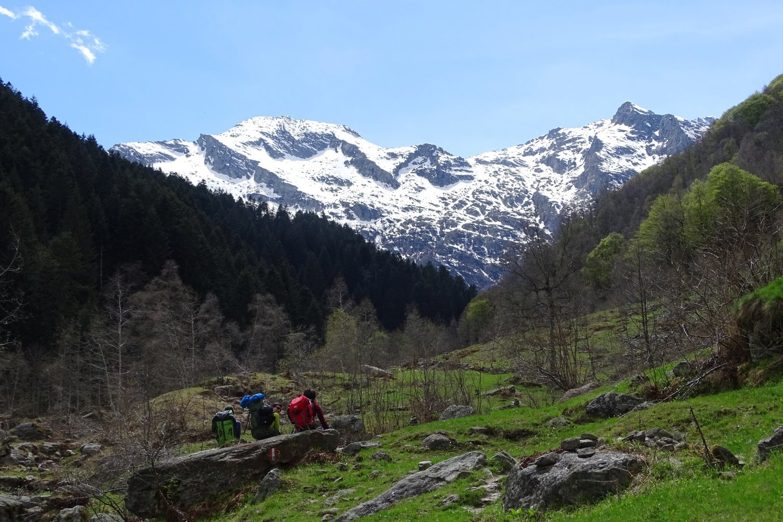 vista verso la testata della Val Gronda