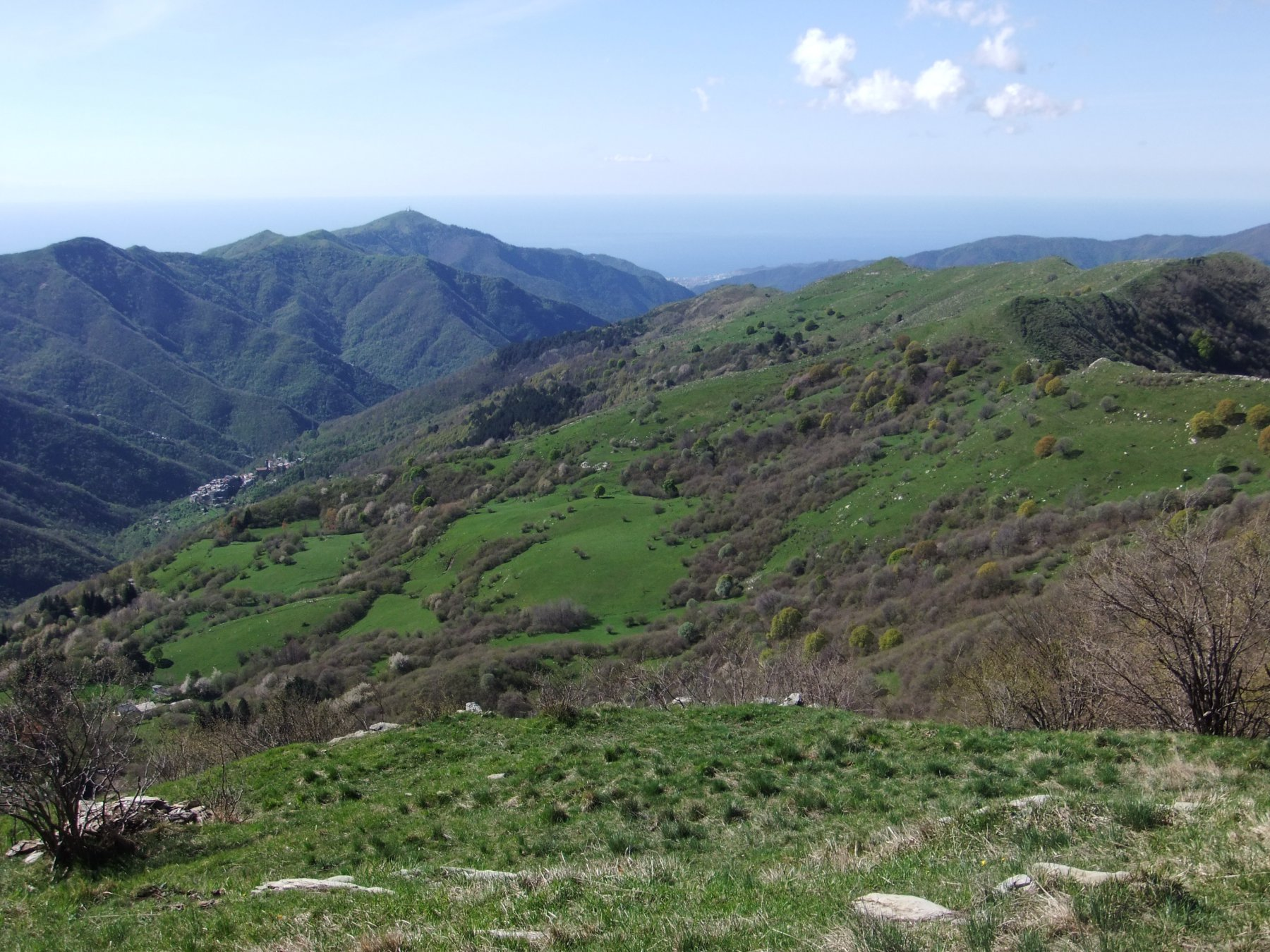 Prati Piani dal Monte Carpasina