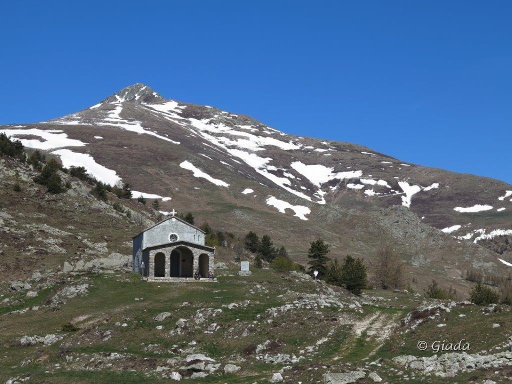 Chiesetta di San Giovanni e Pizzo d'Ormea